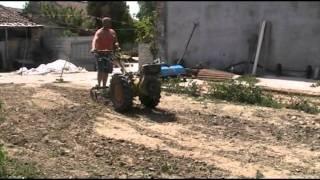 costruzione coltivatore estirpatore a molle  per motocoltivatore