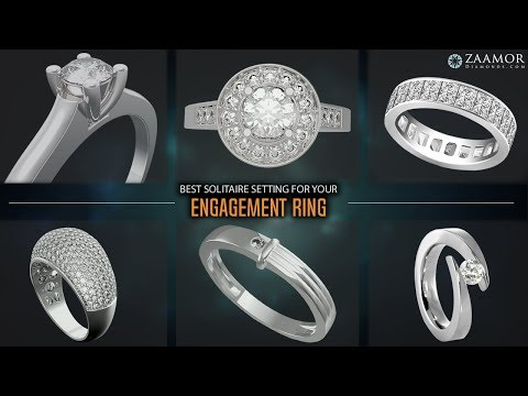 Best solitaire setting for your engagement ring