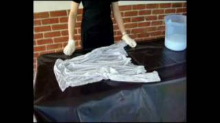 Permethrin treatment of clothes