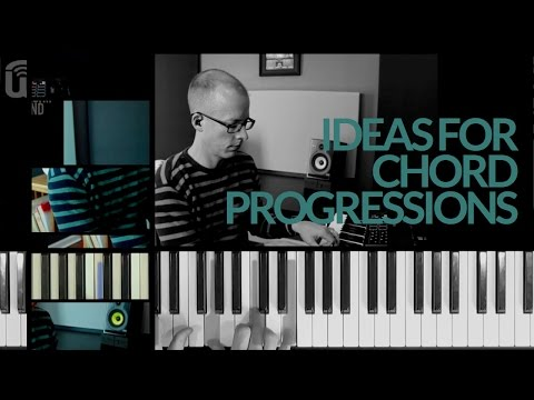 Ideas for creating piano chord progressions