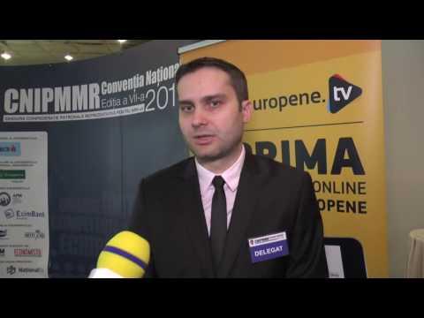 Antreprenoriatul de tineret - Radu Oprea, Vicepreședinte CNIPMMR