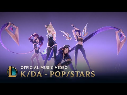 K/DA - POP/STARS (ft Madison Beer, (G)I-DLE, Jaira Burns) | Official Music Video - League of Legends_A valaha feltöltött legjobb videójáték videók