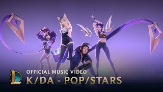 Video K/DA - POP/STARS (ft Madison Beer, (G)I-DLE, Jaira Burns) | Official Music Video - League of Legends MP3, 3GP, MP4, WEBM, AVI, FLV April 2019