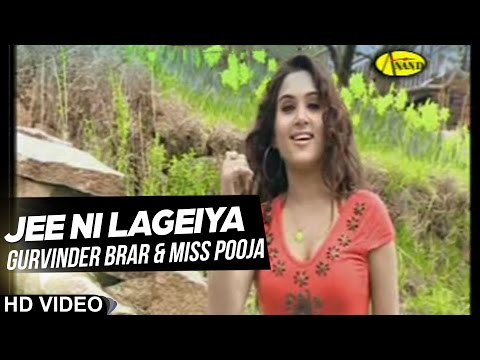 Video Gurvinder Brar ll Miss Pooja || Jee Ni Lageiya || New Punjabi Song 2017 || Anand Music download in MP3, 3GP, MP4, WEBM, AVI, FLV January 2017