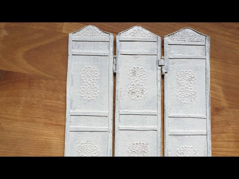 Miniature Tutorial: Paravent- room divider ~How to~