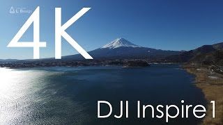 4K専用ドローンで撮影した富士山 / DJI  Inspire1