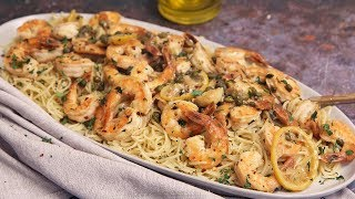 Quick & Easy Shrimp Piccata by Laura in the Kitchen