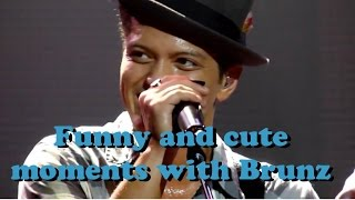 *Bruno Mars*  Funny and Cute Moments with Brunz -Part 1-