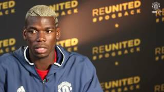 Video Paul Pogba's interview – Part 1 Official Manchester United Website