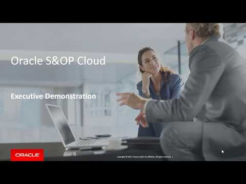Analyze, Align and Act Upon Enterprise-wide Strategy with Oracle Sales and Operations Planning Cloud
