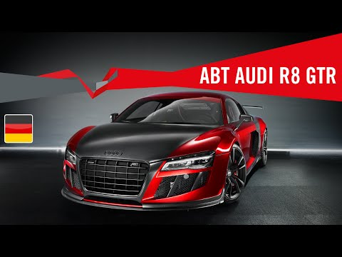 2013 ABT R8 GTR - Deutsches Video