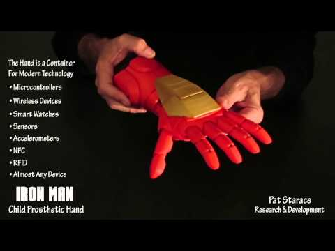 3D Printed IRON MAN Child Prosthetic Hand