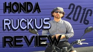 6. The BEST Honda Ruckus Review