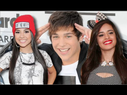 Austin - Austin Mahone Girlfriend Face-Off: Camila Cabello Vs. Becky G!! Subscribe to Hollywire | http://bit.ly/Sub2HotMinute Send Chelsea a Tweet! | http://bit.ly/TweetChelsea Follow Hollywire! | http://bi...