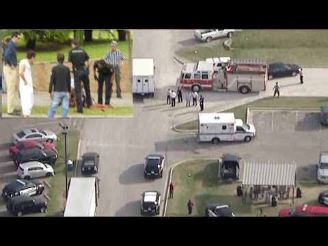 Man beheaded woman in Moore workplace Oklahoma shooting & stabbing - Food Plant Beheads Lady HD!!!