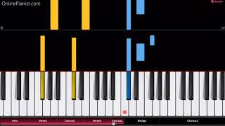 Twenty One Pilots - Neon Gravestones - EASY Piano Tutorial