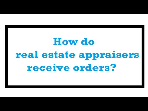 How do real estate appraisers receive orders? – A Quality Appraisal – 503.781.5646