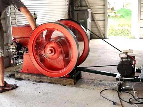 5 hp Economy hit & miss engine full power to low and slow