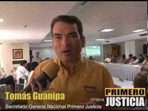 Tomás Guanipa: El Gobierno Celebra la entrada al Consejo de Seguridad de la ONU pero no le dan seguridad a los venezolanos