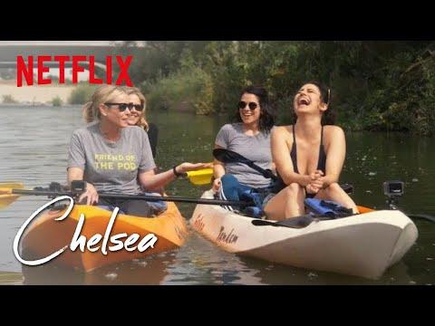 Broad CIty's Ilana Glazer and Abbi Jacobson take Chelsea Kayaking  | Chelsea | Netflix