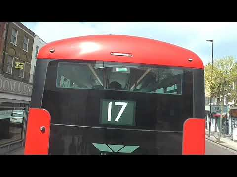 Full Route Visual~43: London Bridge Bus Station - Friern Barnet