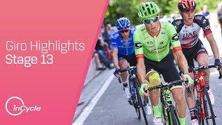 Giro d'Italia: Stage 13 - Highlights