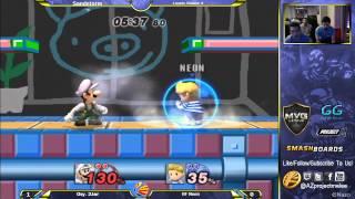 HF Neon (Lucas) vs Oxy.2Jar (Luigi) Losers Round 4 at Sandstorm