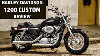 7. Harley Davidson 1200 Custom Review | Test Drive | QuikrCars