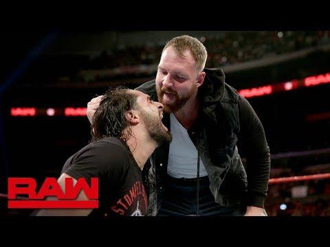 Seth Rollins attacks Dean Ambrose: Raw, Nov. 19, 2018