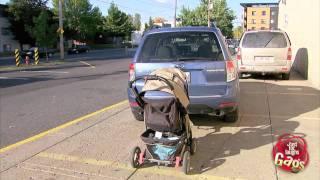 Hitchhiking Stroller Prank