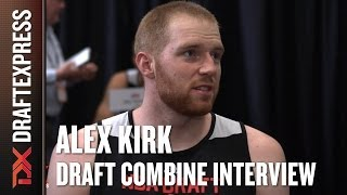 Alex Kirk Draft Combine Interview
