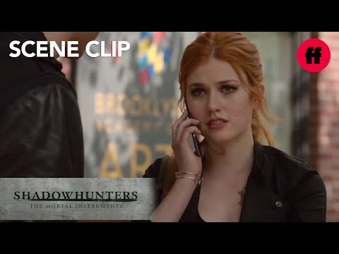 Shadowhunters | Season 1, Episode 5: Alec Finds Clary | Freeform
