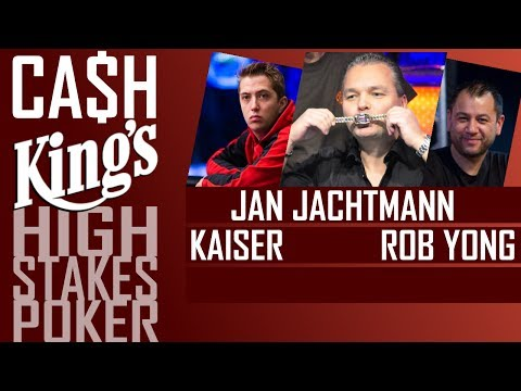 Cash Kings | High Stakes poker with Rob Yong, Roony Kaiser | Kings Casino 2017  | Day 1/3