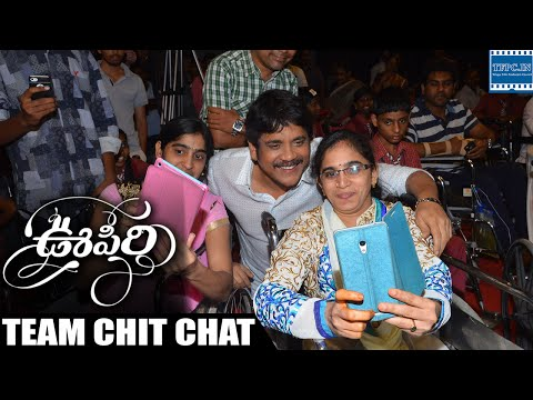 Oopiri Movie Team Special Interact With Wheelchair Bound People