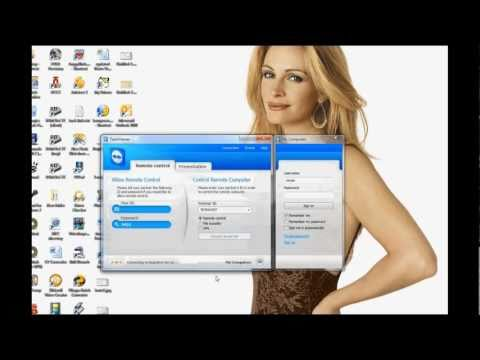 Using teamviewer to control another computer