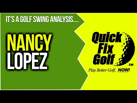 golf swing analysis Nancy Lopez
