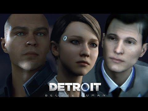ХЕСУС ИГРАЕТ В Detroit: Become Human #1 || JesusAVGN