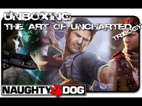 Unboxing The Art Of The Uncharted Trilogy (Dark Horse)