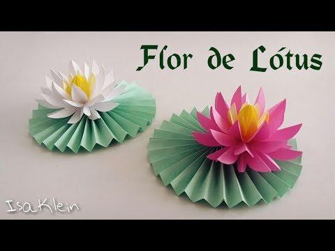 Flor de lótus estilizada