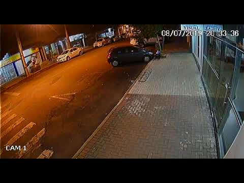 Palotina - PM divulga imagem que flagra autor de furto. Ajude a identificar.
