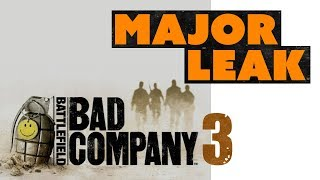 Battlefield Bad Company 3 HUGE LEAK! EA Ditching Microtransactions?