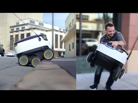 We Tried To Steal Food From A Delivery Robot