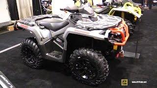 8. 2019 Can Am Outlander XT 1000 Recreational ATV - Walkaround - 2018 Toronto ATV Show