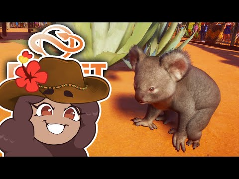 Baby KOALAS on the Way?! 🐨 Planet Zoo: Outback CHALLENGE!! • #5