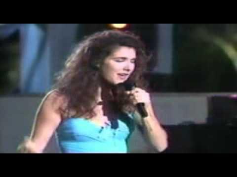 Céline Dion - Love  Can Move Mountains ( Emission Télévisée )