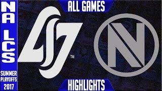 CLG vs Team Envy Highlights Game 1, Game 2, Game 3, Game 4, Game 5, ALL GAMES NA LCS Play-offs Quarter-finals Summer...