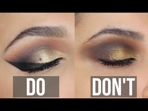Eyeshadow DO's & DON'Ts