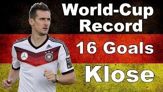 Alle 16 WM-Tore des Miroslav Klose