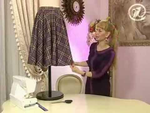 юбка с одним швом выкройка