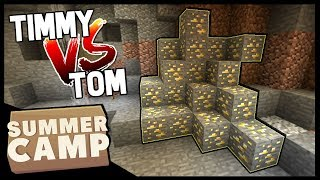 WHO CAN GET THE MOST GOLD!? | Minecraft Summer Camp SMP | #15